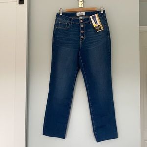 NWT Jordache High Rise Ankle Straight jeans